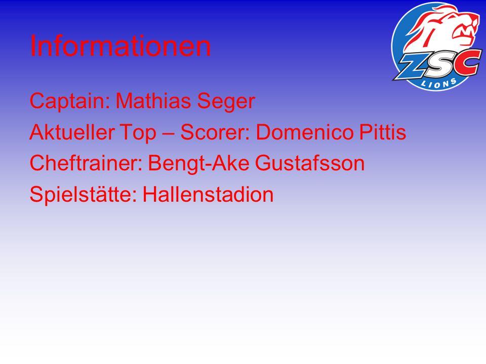 Grösste Erfolge CH-Meister: 1936, 1949, 1961, 2000, 2001, 2008 CH-Cup Sieger: 1960, 1961 Spengler Cup Sieger: 1944, 1945 IIHF Continental Cup Sieger: 2001, 2002 Champions League Sieger: 2009 Victoria Cup Sieger: 2009