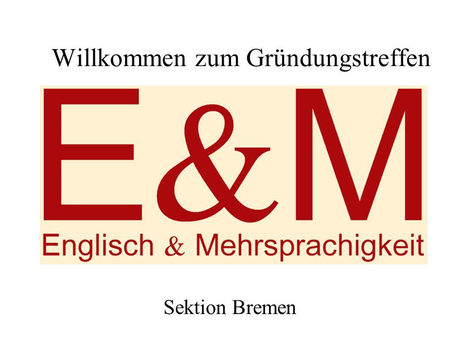 Willkommen zum Gründungstreffen Sektion Bremen