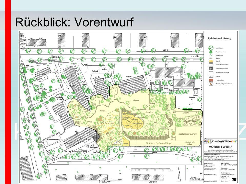 Kits&JugAKTIVimKIEZ Rückblick: Vorentwurf
