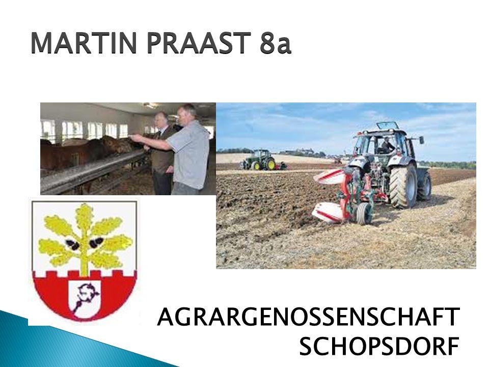  AGRARGENOSSENSCHAFT SCHOPSDORF MARTIN PRAAST 8a