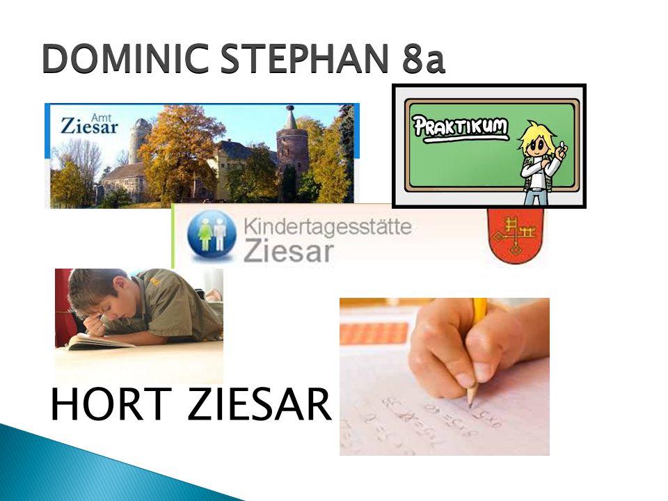 HORT ZIESAR DOMINIC STEPHAN 8a
