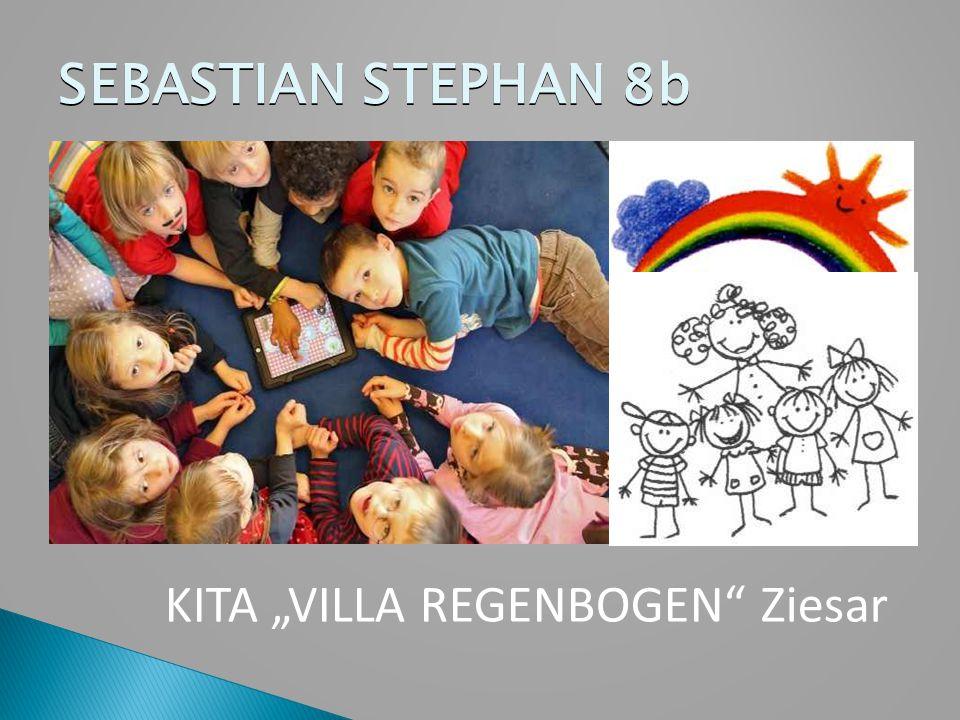 """SEBASTIAN STEPHAN 8b KITA """"VILLA REGENBOGEN"""" Ziesar"""