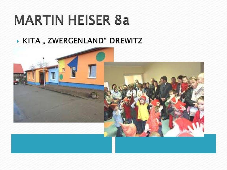 """MARTIN HEISER 8a  KITA """" ZWERGENLAND"""" DREWITZ"""