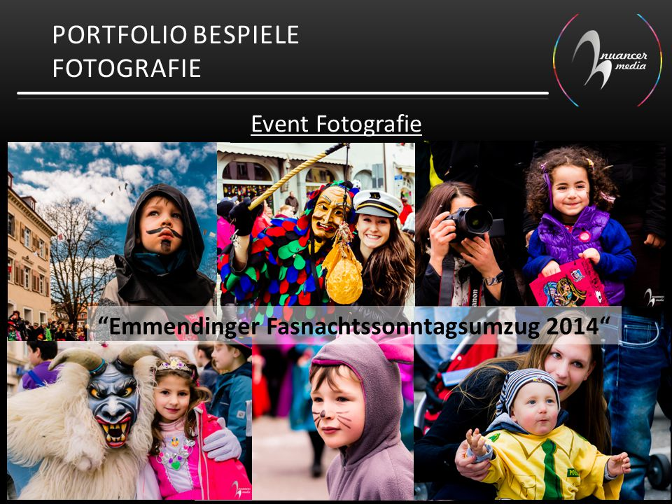 "PORTFOLIO BESPIELE FOTOGRAFIE Event Fotografie ""Emmendinger Fasnachtssonntagsumzug 2014"""