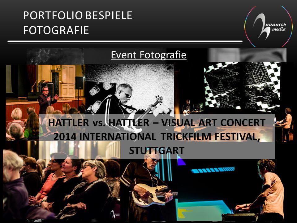 PORTFOLIO BESPIELE FOTOGRAFIE Event Fotografie HATTLER vs. HATTLER – VISUAL ART CONCERT 2014 INTERNATIONAL TRICKFILM FESTIVAL, STUTTGART
