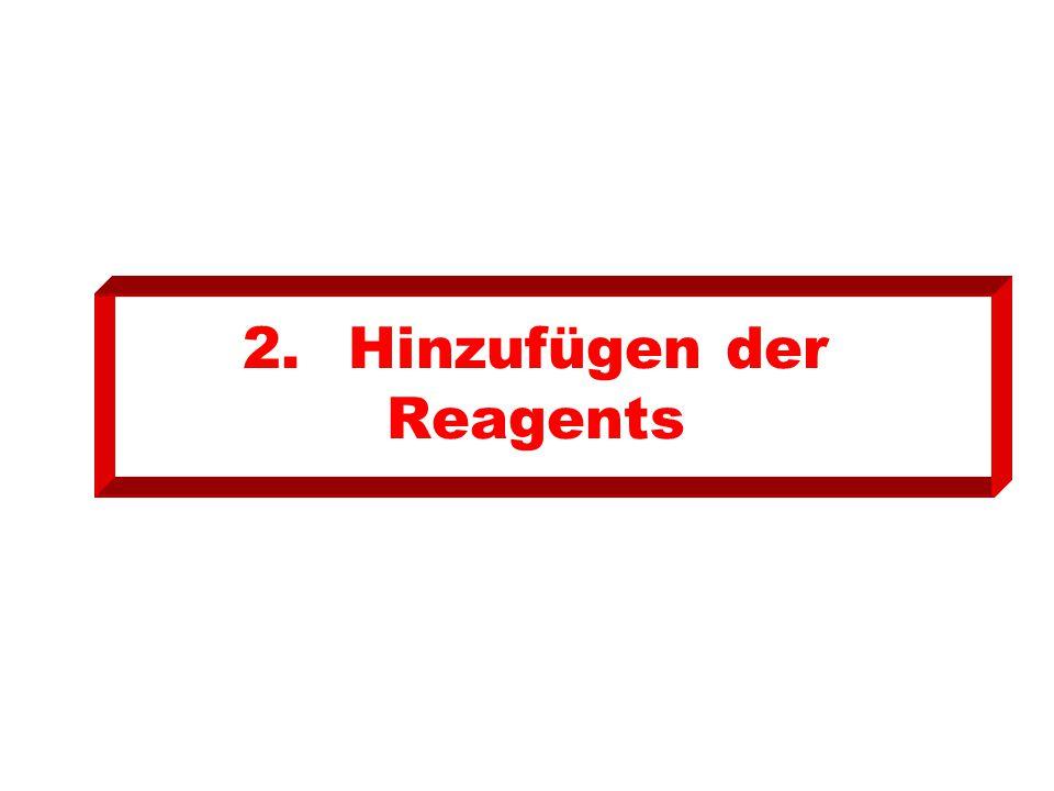 2.Hinzufügen der Reagents