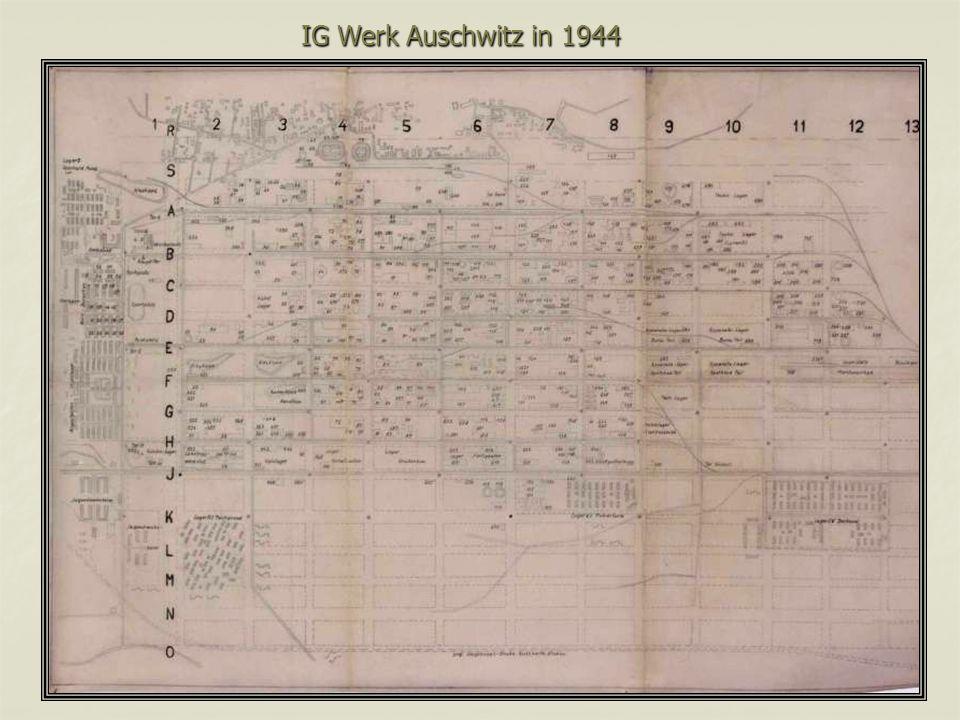 IG Werk Auschwitz in 1944