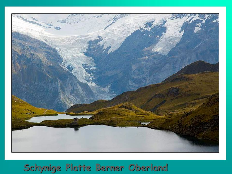Lungernsee im Kanton Obwalden