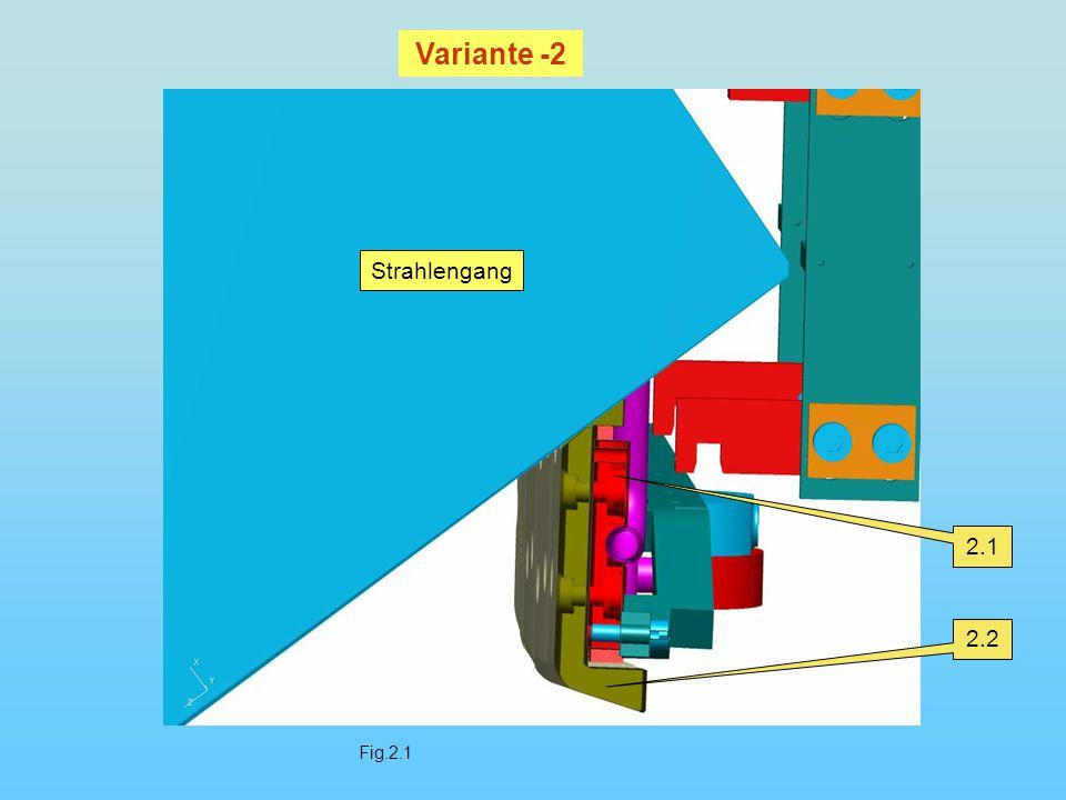 Fig.2.2 2.1 Veränderte Lage Ursprüngliche Lage Strahlengang