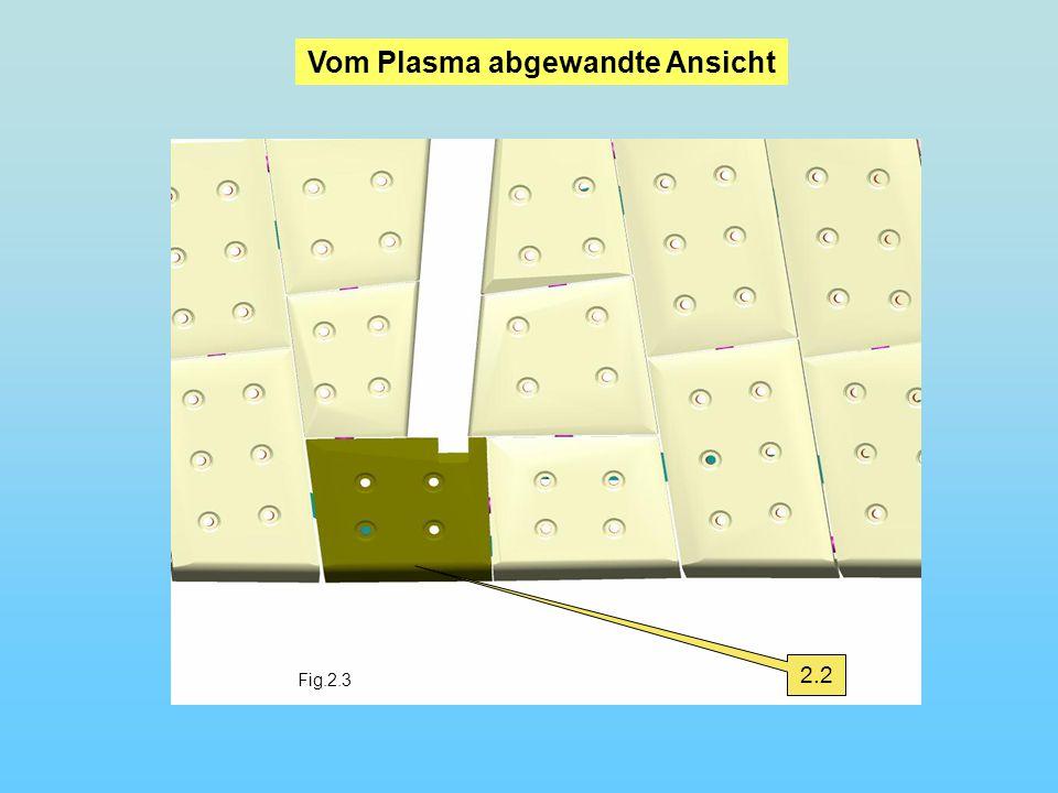 Fig.2.3 2.2 Vom Plasma abgewandte Ansicht