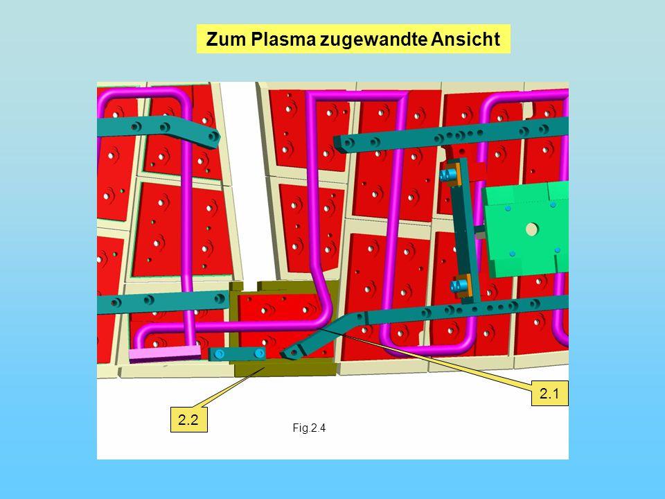 Fig.2.4 2.1 2.2 Zum Plasma zugewandte Ansicht