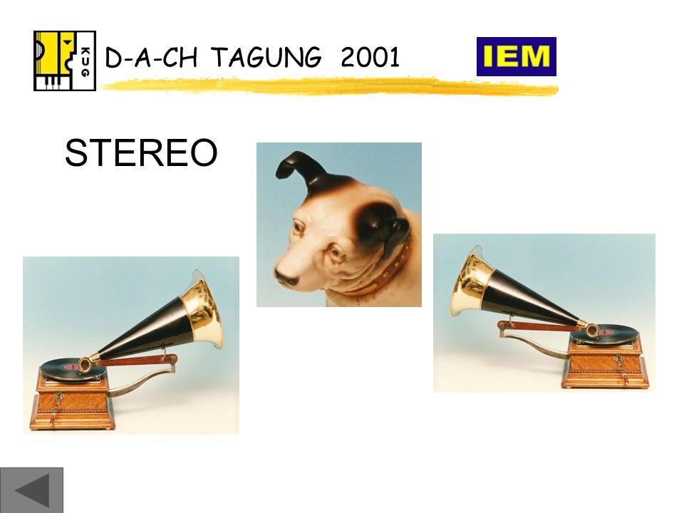 D-A-CH TAGUNG 2001 STEREO