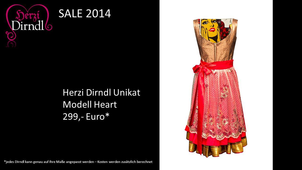 Herzi Dirndl Unikat Modell Heart 299,- Euro* SALE 2014 *jedes Dirndl kann genau auf Ihre Maße angepasst werden – Kosten werden zusätzlich berechnet
