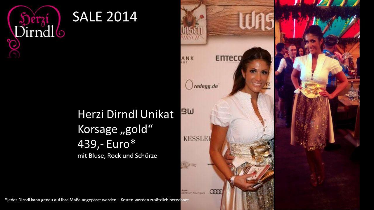 """Herzi Dirndl Unikat Korsage """"gold"""" 439,- Euro* mit Bluse, Rock und Schürze SALE 2014 *jedes Dirndl kann genau auf Ihre Maße angepasst werden – Kosten"""