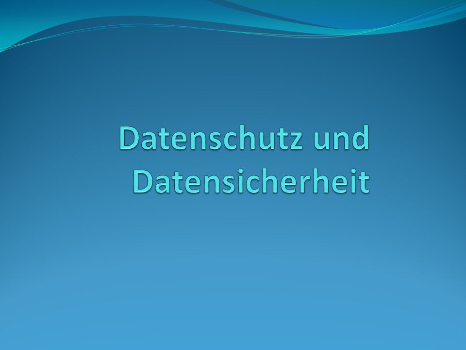 Zutrittskontrolle: verwehrt Unbefugten Zutritt zu Datenverarbeitungsanlagen z.B.