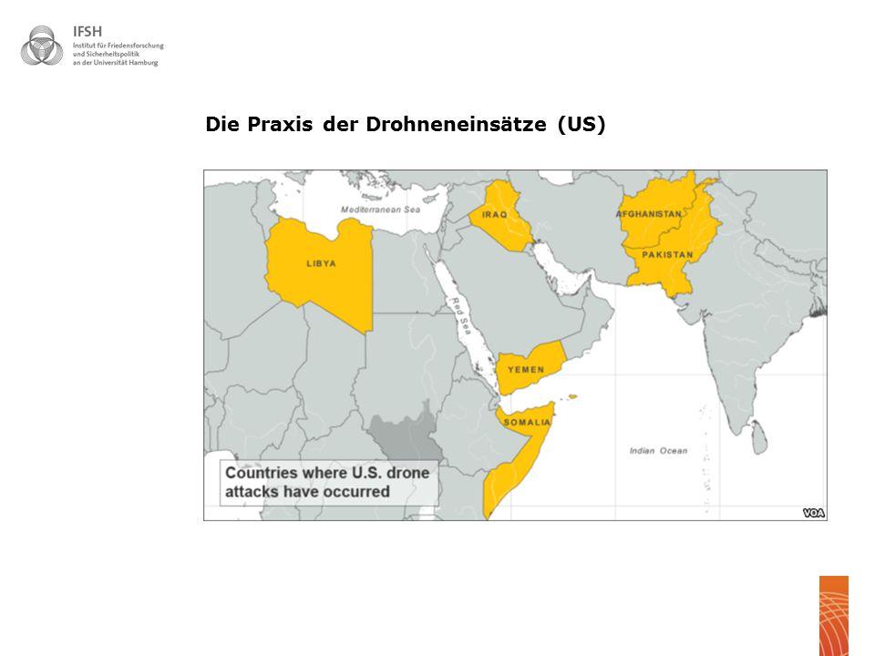 88 Die Praxis der Drohneneinsätze US ISAF
