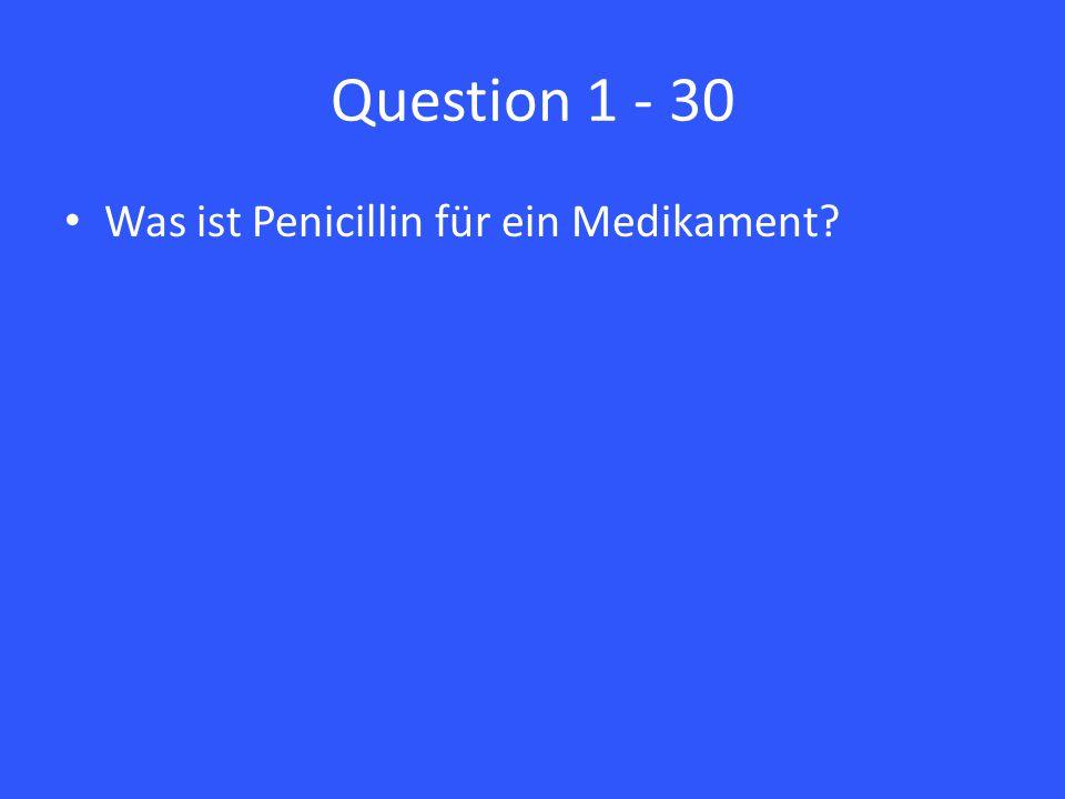 Answer 2 – 30 Aufnahme über den Mund