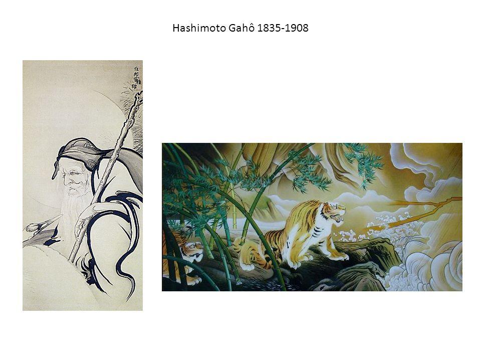 Hashimoto Gahô 1835-1908