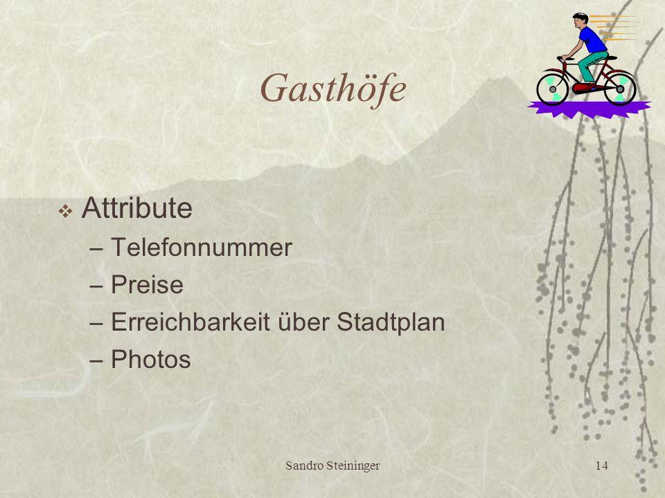 Sandro Steininger13 Bad Mitterndorf  Gemeindedaten: Marktgemeinde Bad Mitterndorf 8983 Bad Mitterndorf 59 Telefon: 03623 / 2202  Einwohner: 3209  Fläche: 112,5 km2  Seehöhe: 809 (Zentrum)  Gasthöfe:...