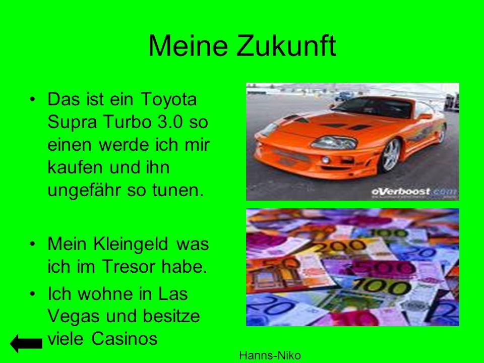 Meine Zukunft Das ist ein Toyota Supra Turbo 3.0 so einen werde ich mir kaufen und ihn ungefähr so tunen.