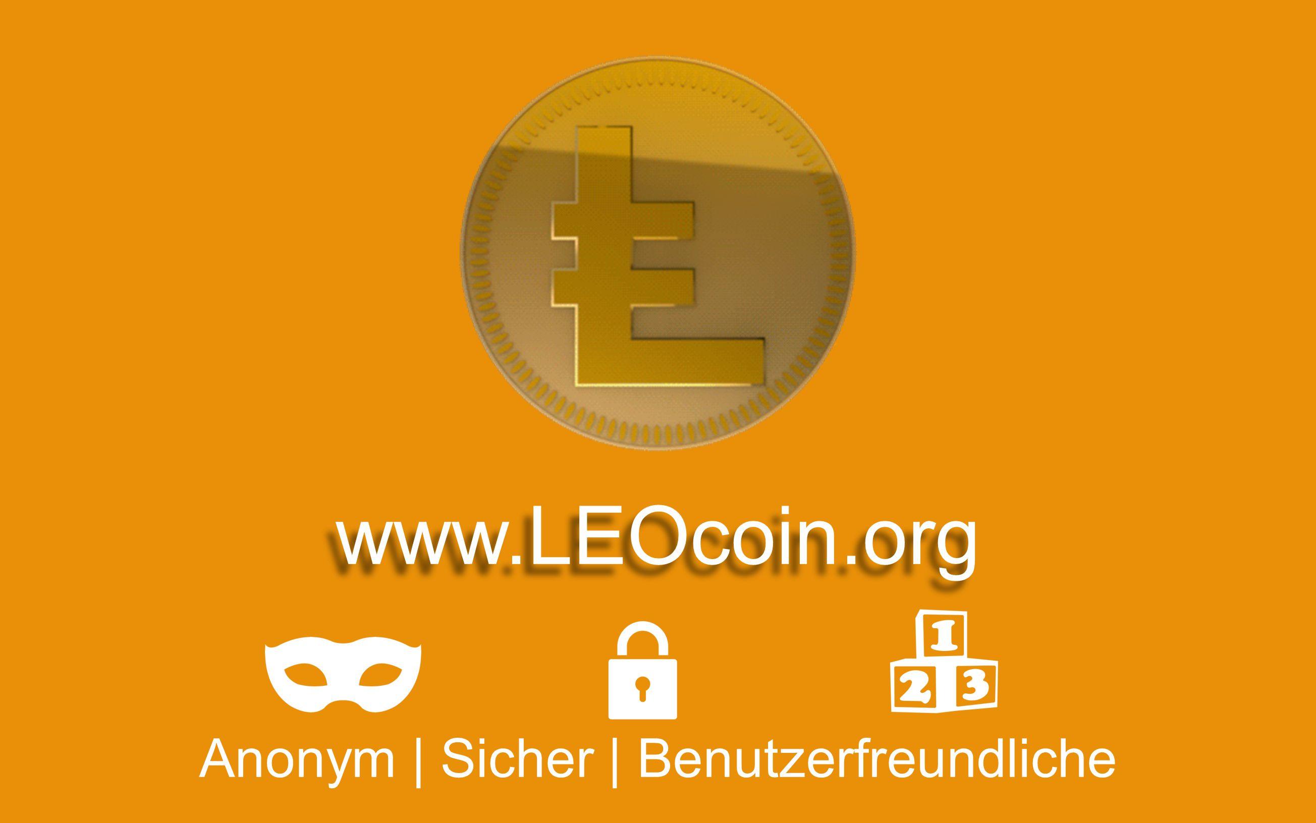 www.LEOcoin.org Anonym | Sicher | Benutzerfreundliche