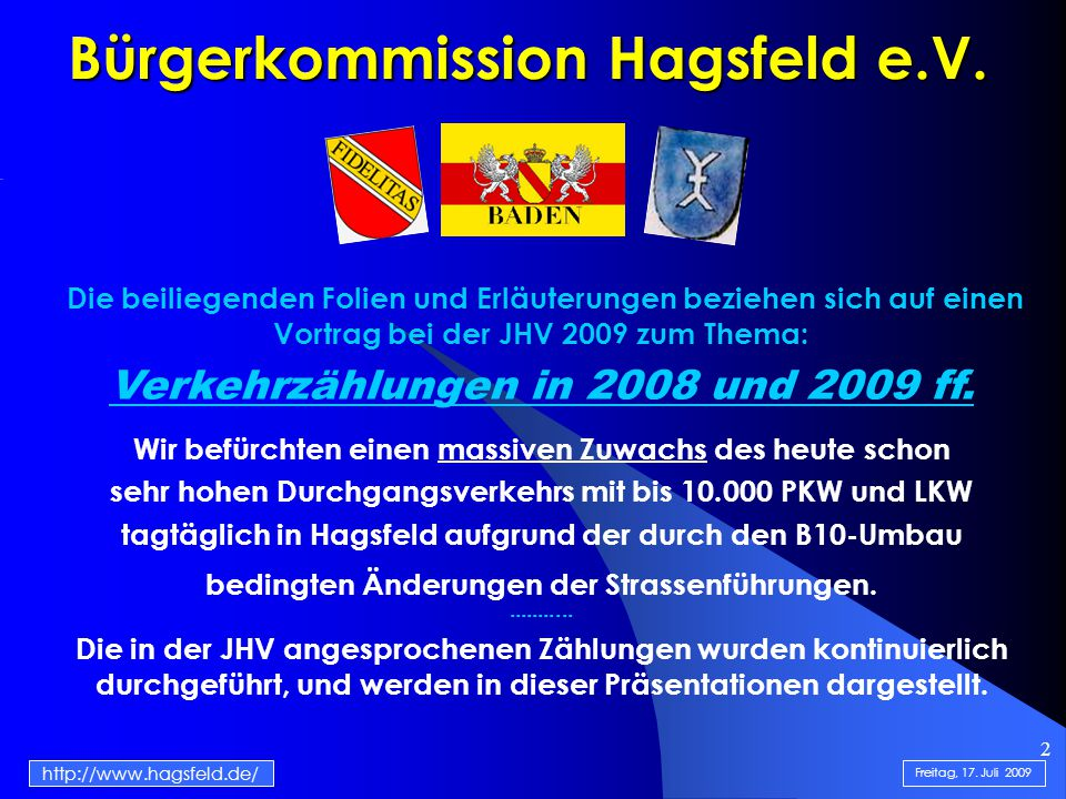 2 Bürgerkommission Hagsfeld e.V.