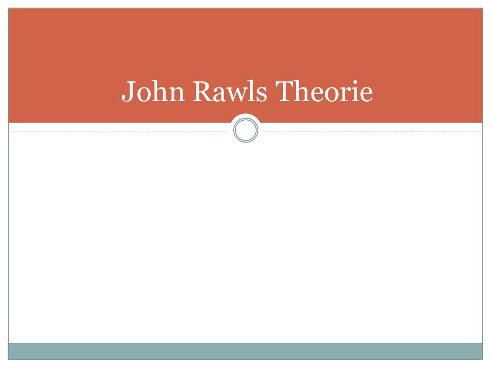 John Rawls Theorie