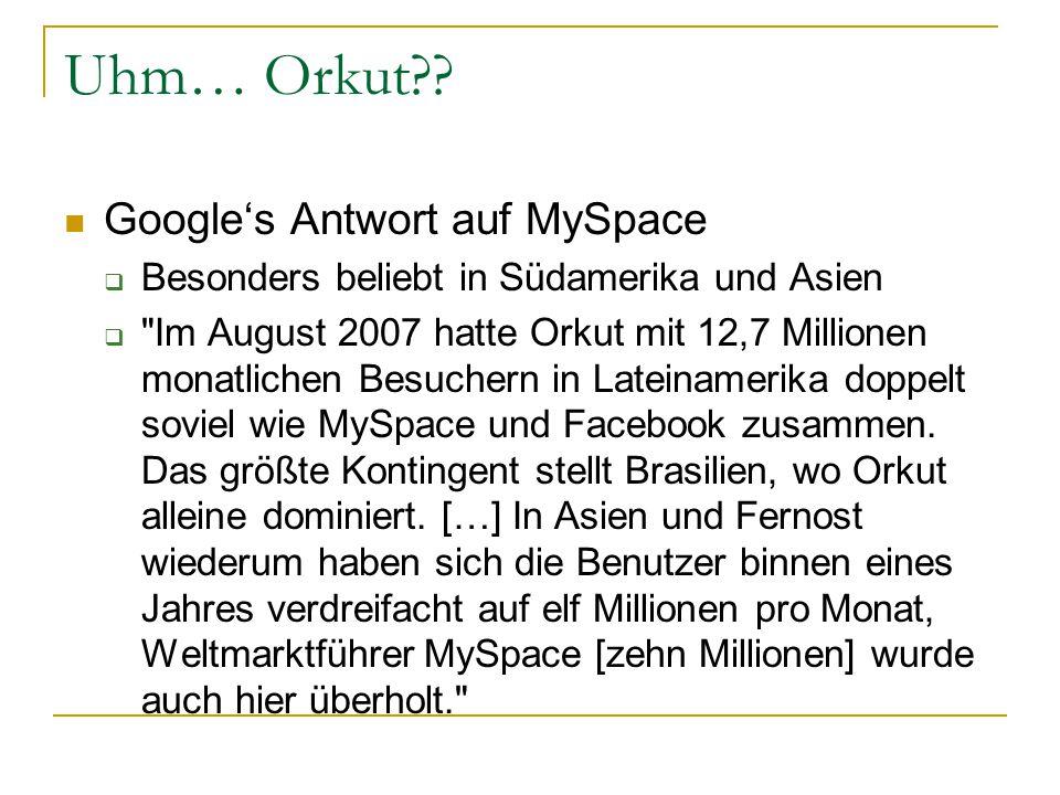 Uhm… Orkut .