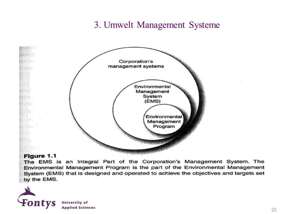 3. Umwelt Management Systeme 25