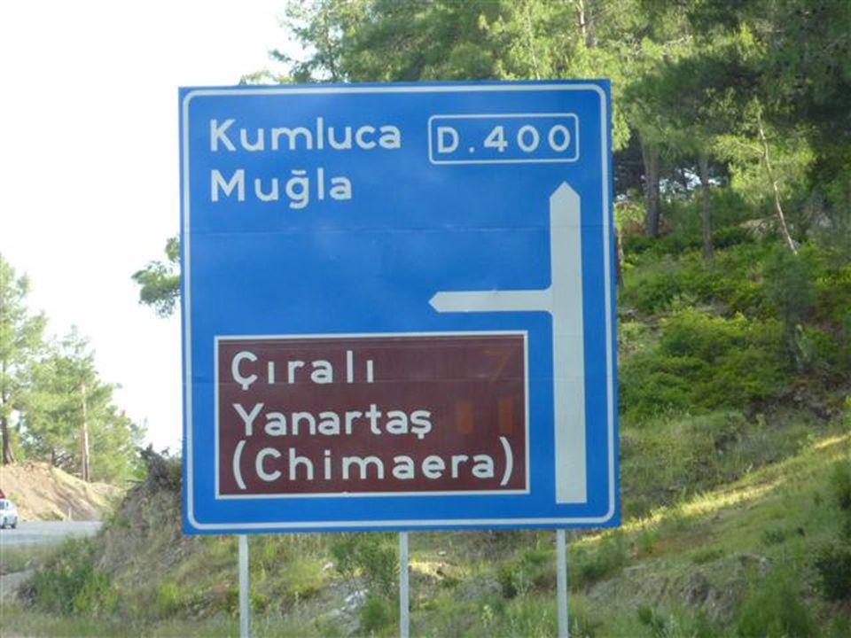 Cirali, die Bucht der Schildkröten und der antiken Stadt Olympos Die Bucht von Cirali ist wunderschön.