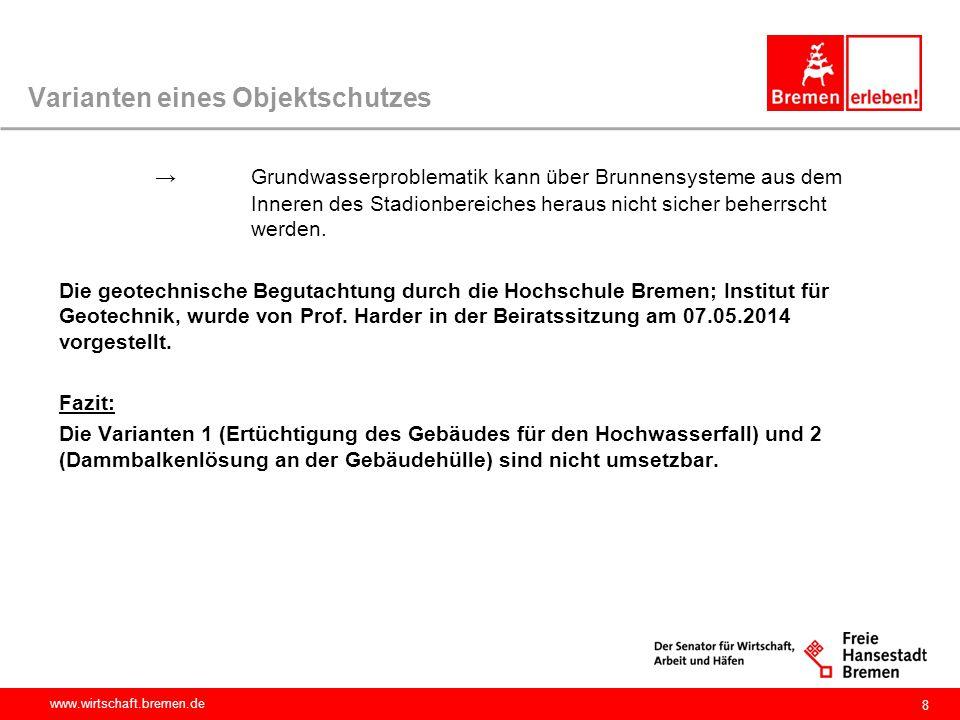 www.wirtschaft.bremen.de Objektschutz Plus Anforderungen an die Planung für einen funktionalen Objektschutz.