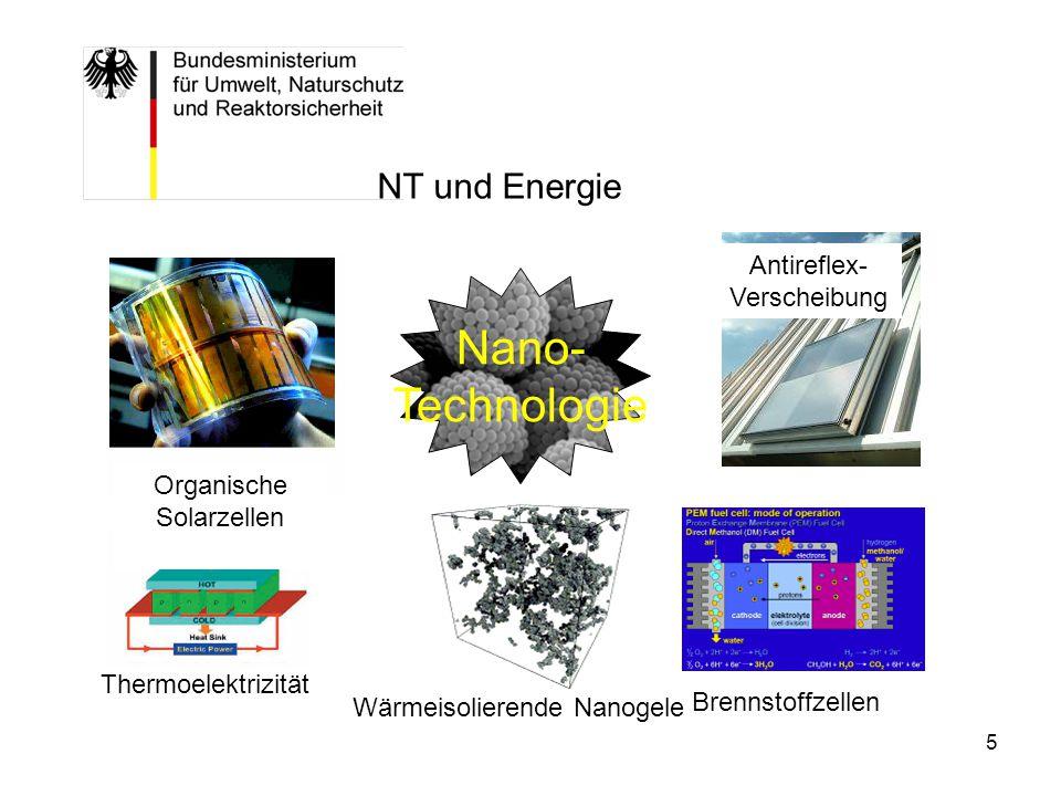 6 Entwicklungsstand Nanotechnologie