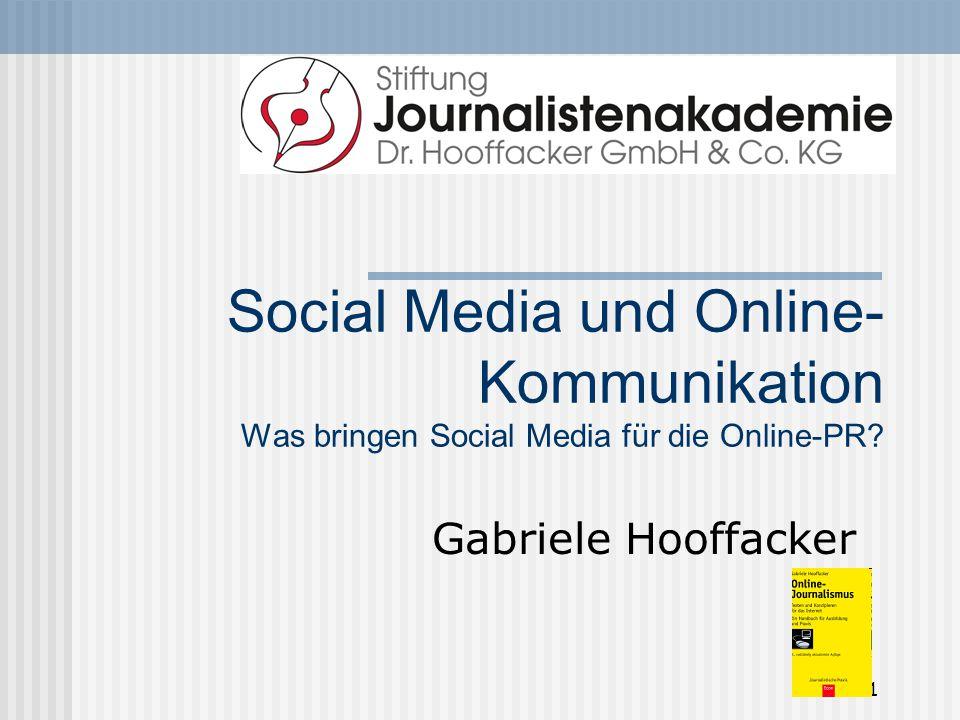 31 von 32 Öffentlichkeitsarbeit in eigener Sache, aber richtig Nicht so wie WeTab-Chef Helmut Hoffer von Ankershoffen.