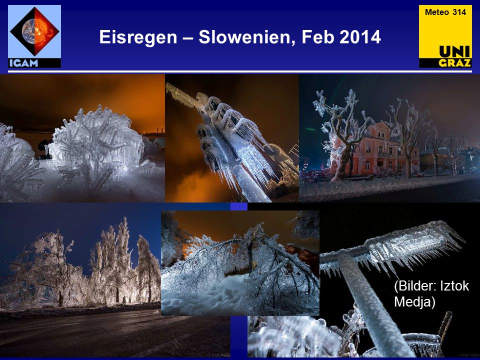 """Kein Eisregen Meteo 315 Wird häufig als Eisregen """"verkauft , ist aber tatsächliche gefrorene Gischt am Genfer See (fällt aber jedenfalls in die Kategorie """"strategisch richtiges Parken ."""