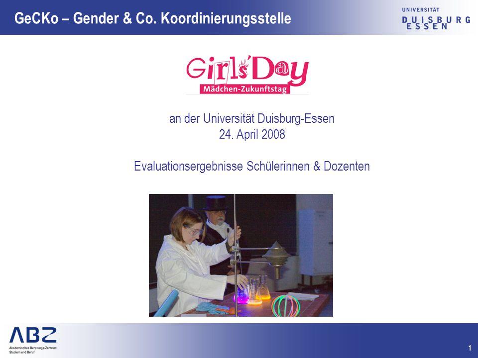 12 GeCKo – Gender & Co.