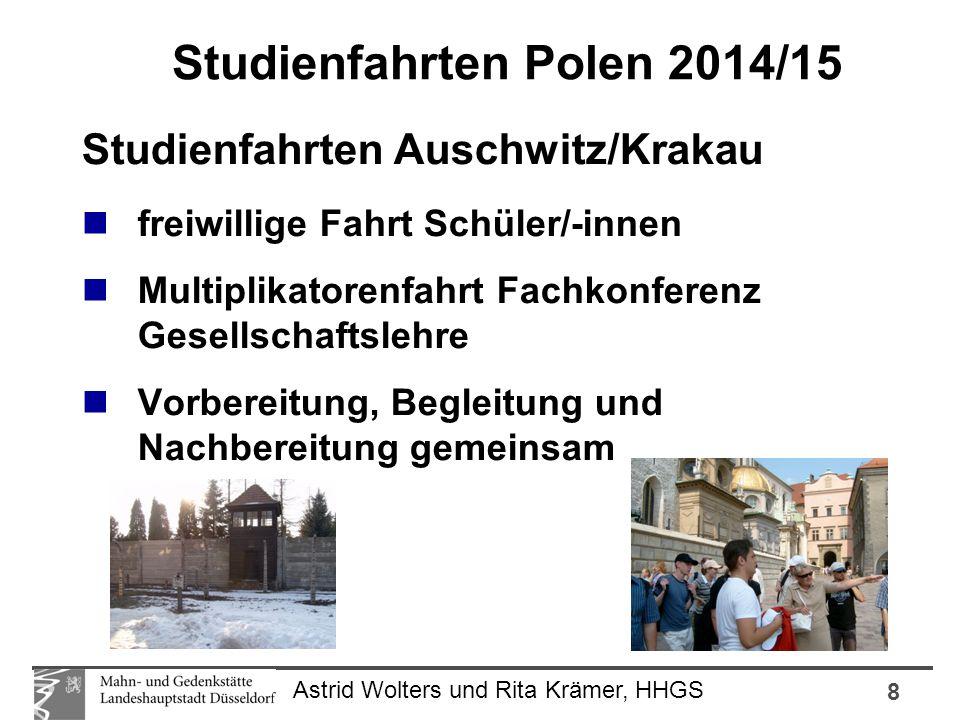 8 Astrid Wolters und Rita Krämer, HHGS Studienfahrten Auschwitz/Krakau freiwillige Fahrt Schüler/-innen Multiplikatorenfahrt Fachkonferenz Gesellschaf