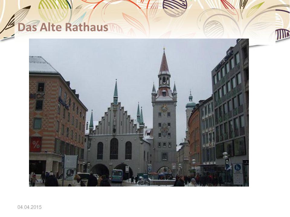 04.04.2015 Das Alte Rathaus