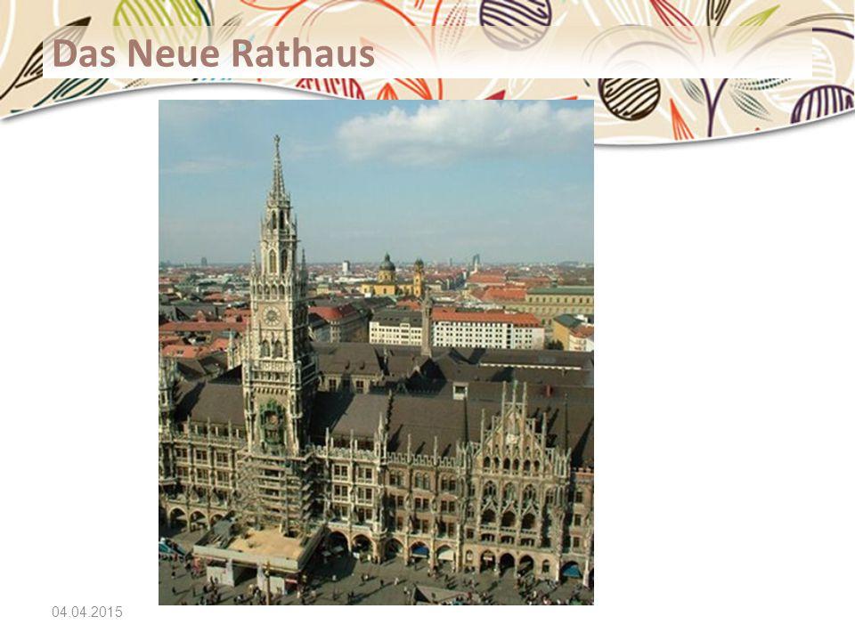 04.04.2015 Das Neue Rathaus