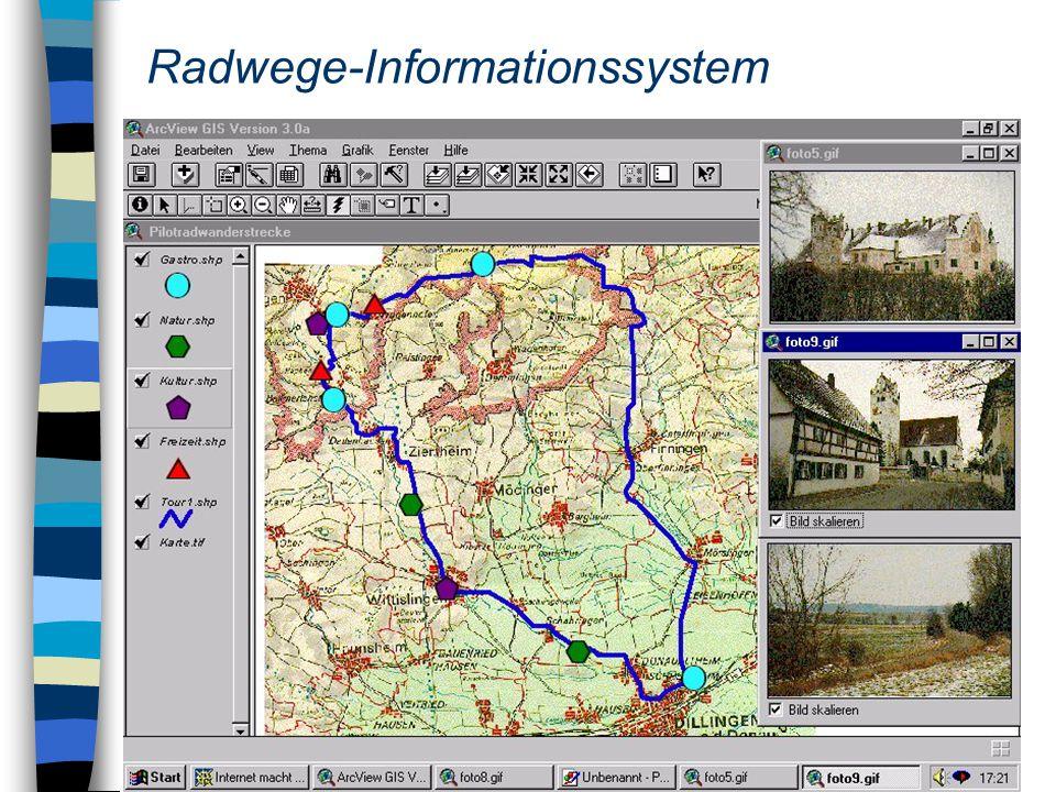 Radwege-Informationssystem