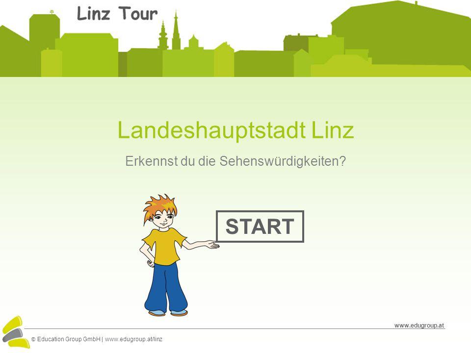 Landeshauptstadt Linz Erkennst du die Sehenswürdigkeiten.