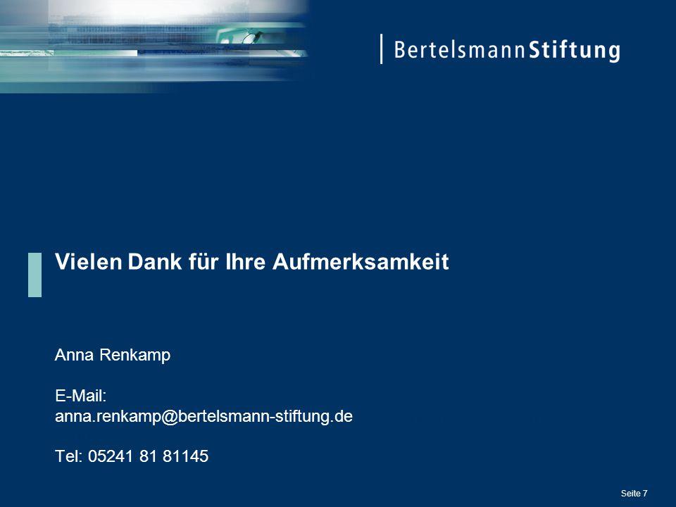 Vielen Dank für Ihre Aufmerksamkeit Anna Renkamp E-Mail: anna.renkamp@bertelsmann-stiftung.deanna.renkamp@bertelsmann- stiftung.deanna.renkamp@bertels