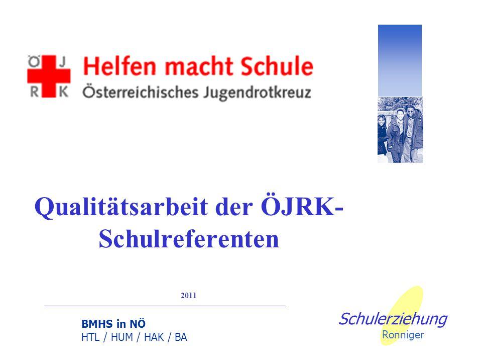 BMHS in NÖ HTL / HUM / HAK / BA Schulerziehung Ronniger Kontinuierliche Verbesserung durch PDCA
