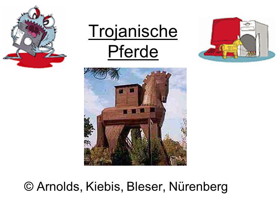 Trojanische Pferde © Arnolds, Kiebis, Bleser, Nürenberg