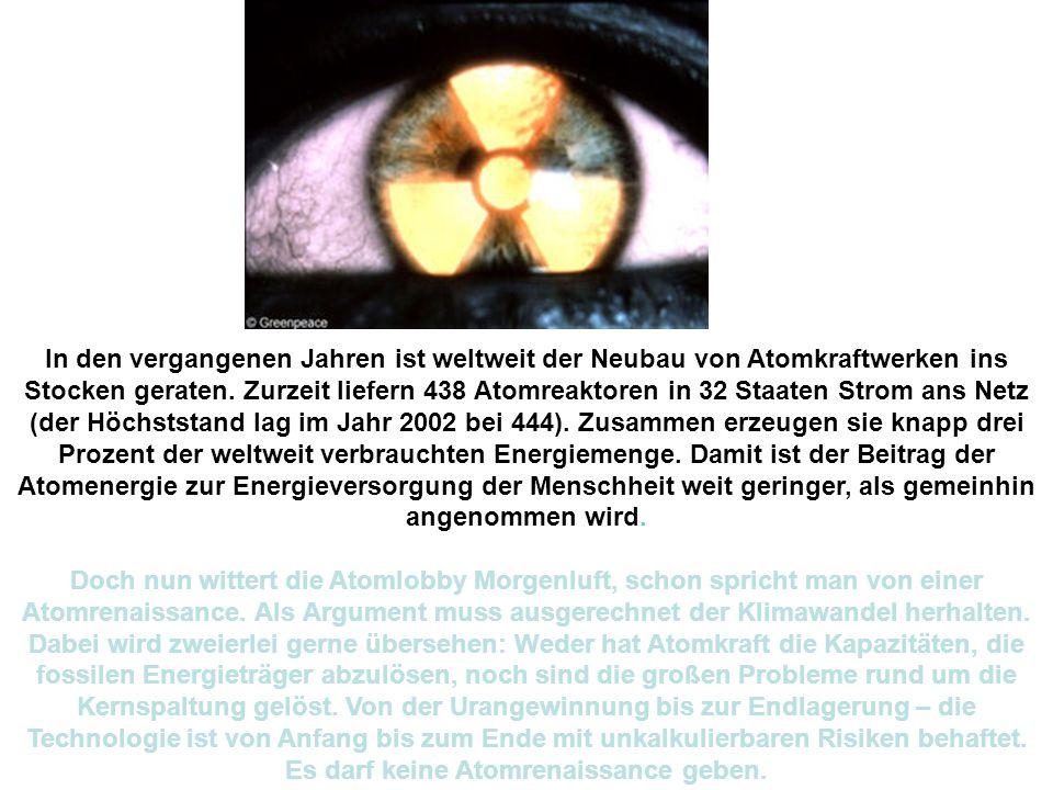 Atommüll Element Formelzeichen Halbwertszeit Uran 238U 4,468 Mrd.