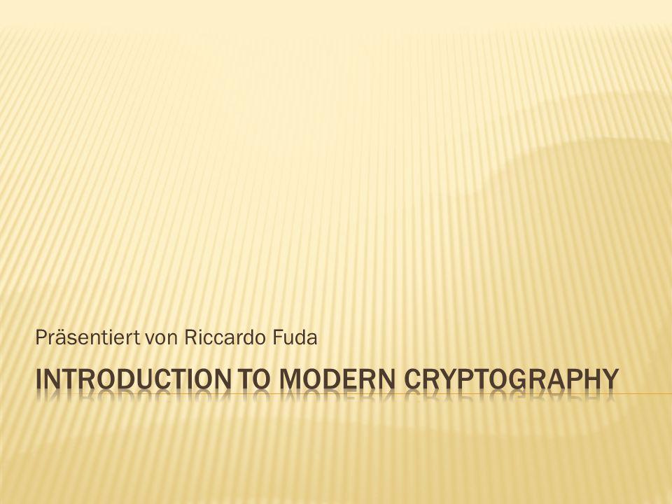 Präsentiert von Riccardo Fuda