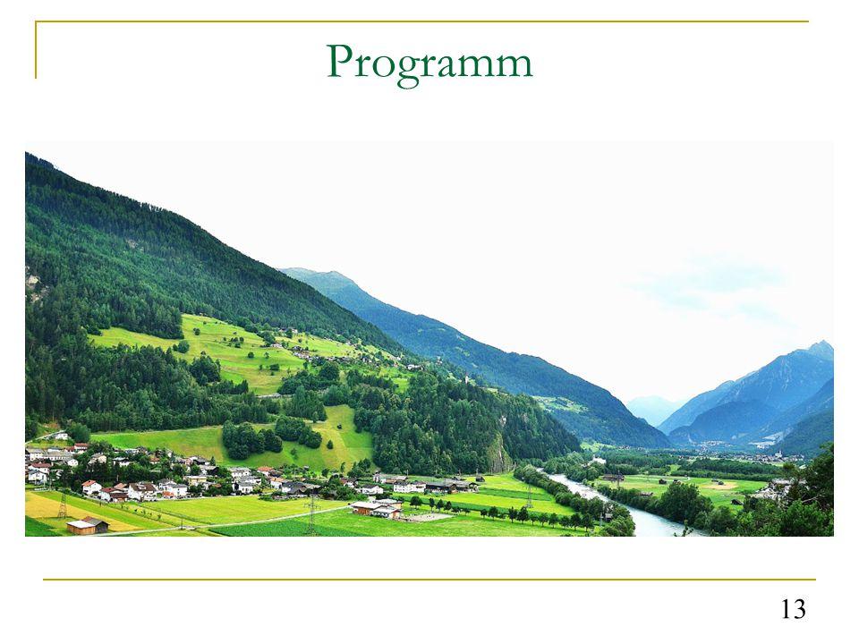 Programm 13