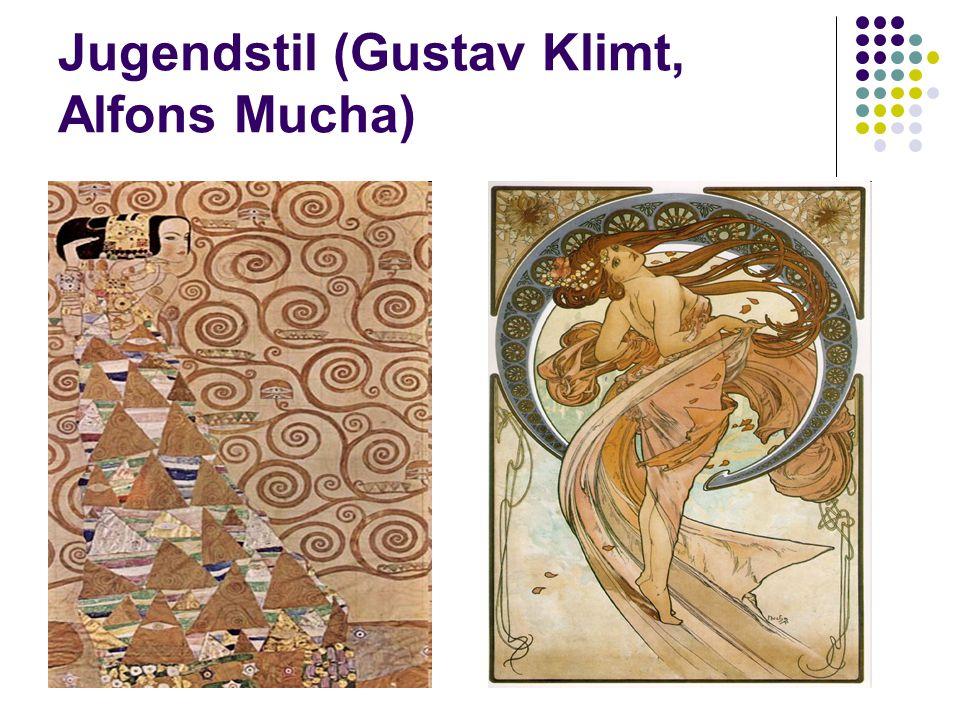 Jugendstil (Gustav Klimt, Alfons Mucha)