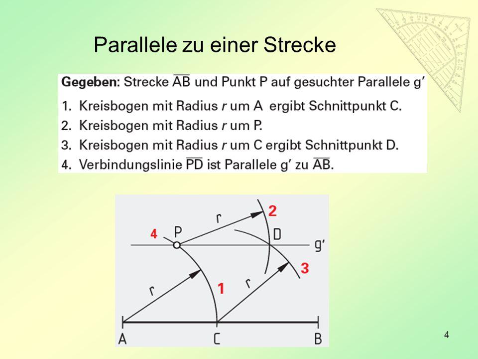 4 Parallele zu einer Strecke