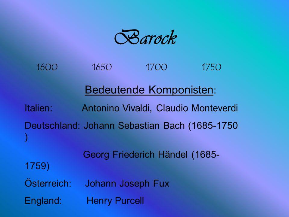 Lebenslauf Name: Johann Sebastian Bach Lebenslauf:Geb.1685 Berufe: Geiger, Organist, Orchesterleiter, Musikalischer Leiter der Thomasschule Leipzig un