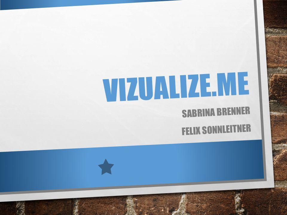 VIZUALIZE.ME SABRINA BRENNER FELIX SONNLEITNER